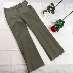 Gap Classic Fit Trouser Pant NWT 2R Army Green